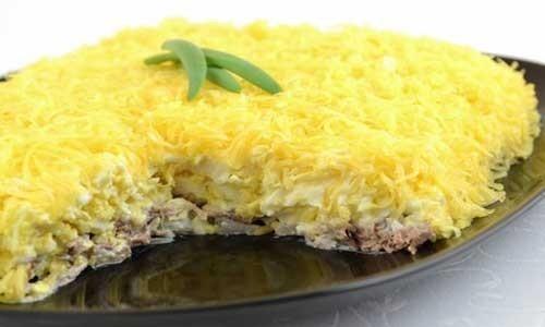 салат с грибами и говядиной рецепт с фото