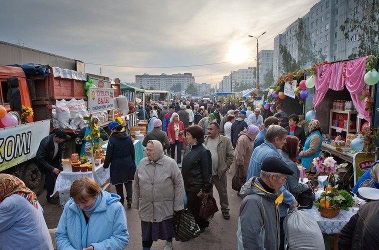 Казань рынок в картинках