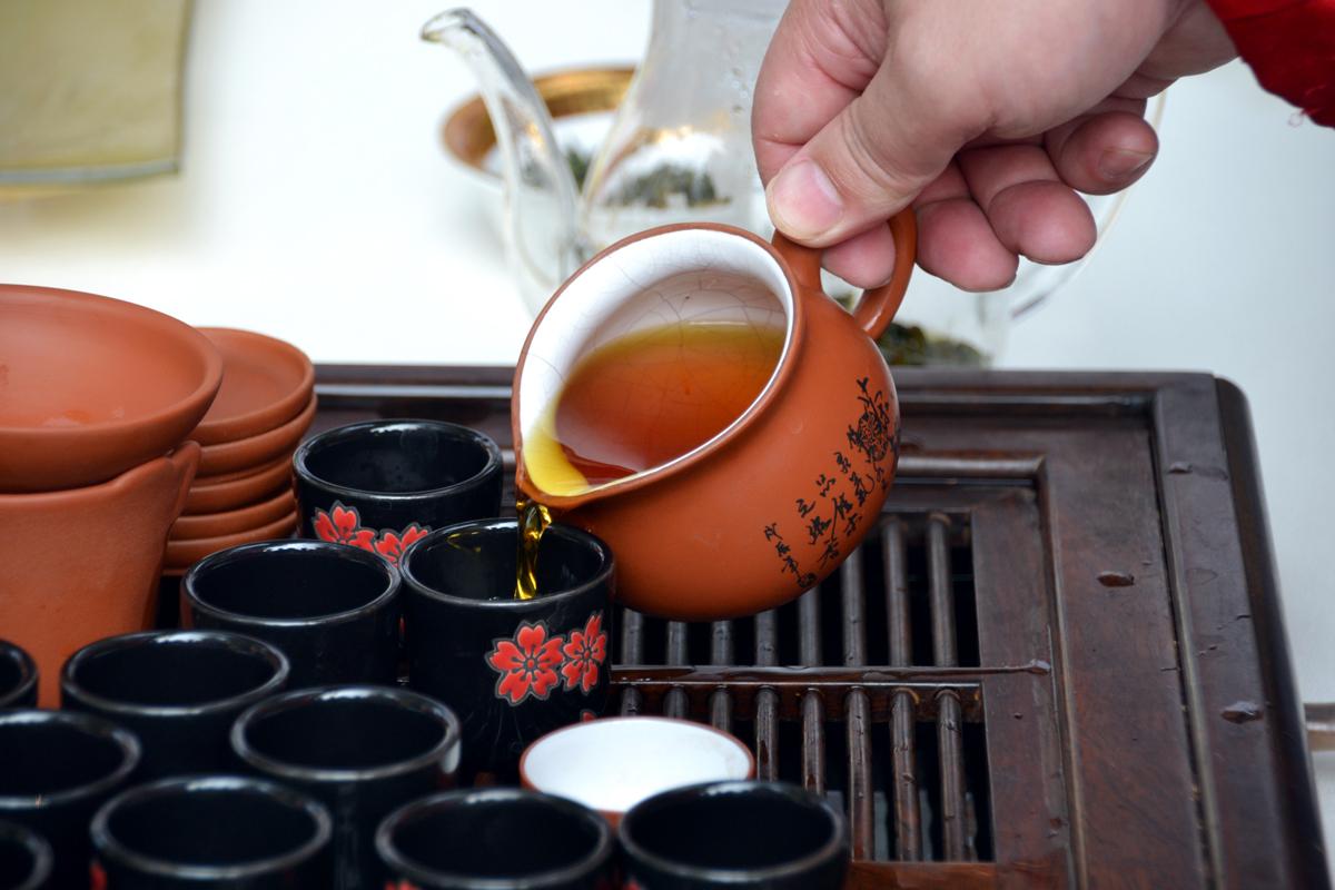 9. Мастер-класс по завариванию зелёного чая.